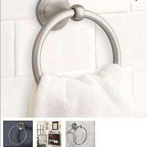 Pottery Barn Mercer Towel Ring - NIB